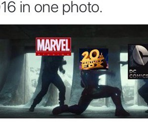 2016 and Marvel image