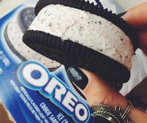 oreo, food, and ice cream image