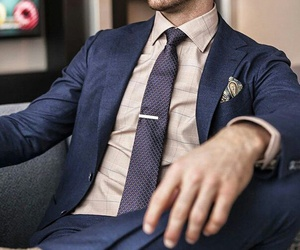 dark blue, fashion, and man image