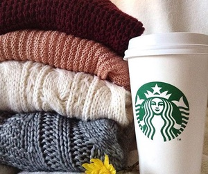 starbucks and sweater image