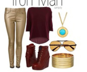 fashion, outfit, and Avengers image