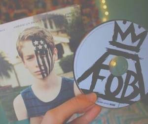 cd, fall out boy, and FOB image