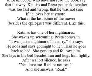 end, real, and katniss image