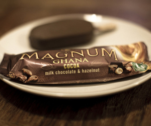 ice cream, Magnum, and chocolate image