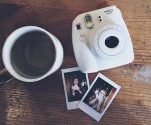 coffee, girl, and photography image