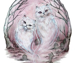 cats, ghost, and pet cemetary image