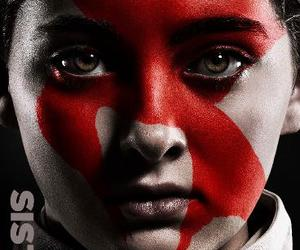 the hunger games, mockingjay, and prim image