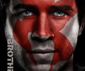 the hunger games, gale, and mockingjay image