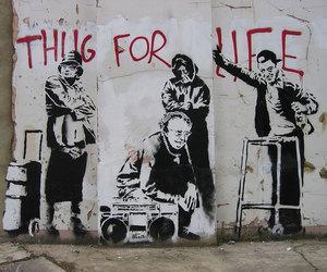 BANKSY, graffiti, and art image