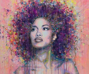 art and Afro image