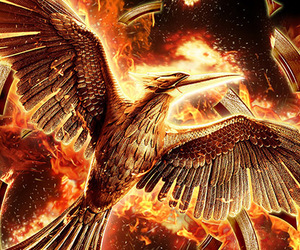 poster, the hunger games, and mockingjay image