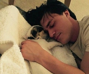cuddles, holiday, and finn wittrock image