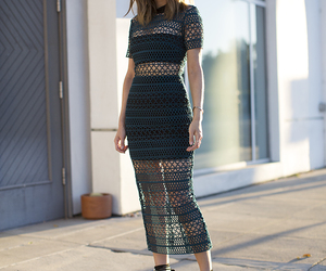 blogger, dress, and fashion image