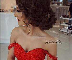 beauty, hairstyle, and women image