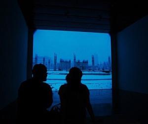 grunge, blue, and indie image