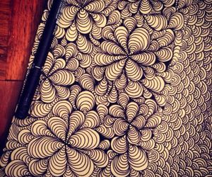 doodle and zentangle image
