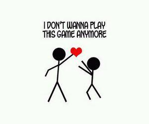 game, heart, and love image