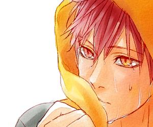 anime boy, akashi seijuro, and knb image