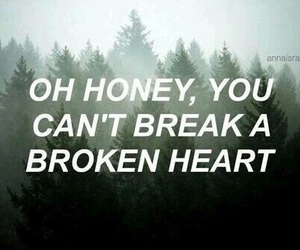 quotes, heart, and broken image