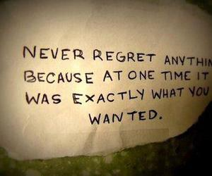 quotes, regret, and text image
