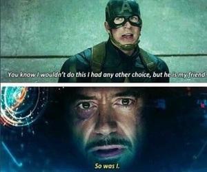 captain america, civil war, and iron man image