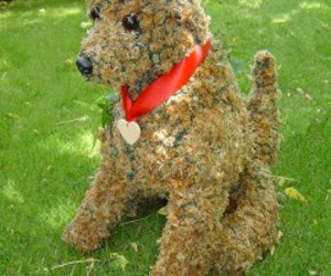 puppy topiary image