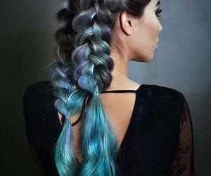 beautiful, beauty, and braids image