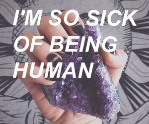 being, sick, and so image