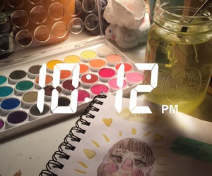 art and water color image