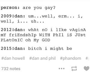 dan, danisnotonfire, and phan image