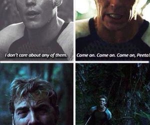 finnick odair, catching fire, and mags image