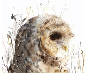 animal, watercolor, and art image