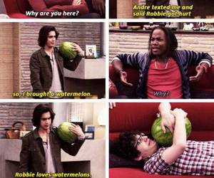 victorious, funny, and watermelon image