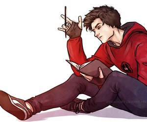 anime, peter parker, and spideypool image