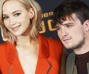 Jennifer Lawrence and josh hutcherson image