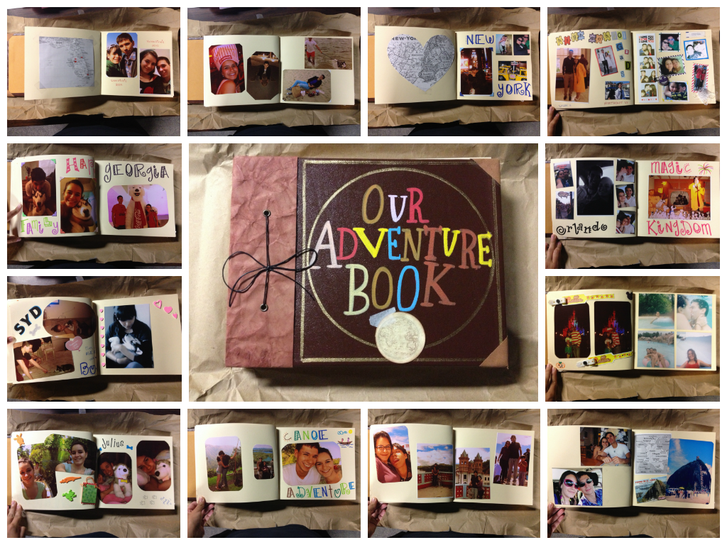 Our adventure book♥ discovered by Citlali Jonas
