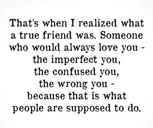 imperfect, lovely, and friendslove image