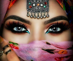 arabic, chic, and eyes image