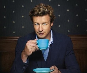the mentalist, simon baker, and patrick jane image