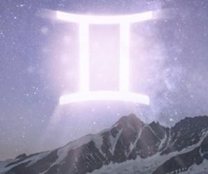 air, gemini, and horoscope image