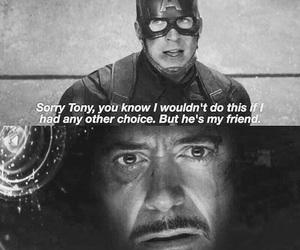 iron man, captain america, and civil war image