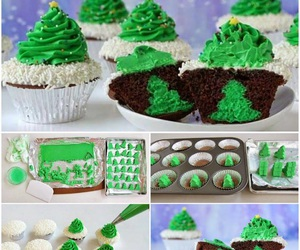 christmas, cupcake, and diy image