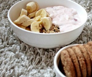 breakfast, fit, and food image