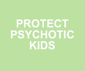 green, Psycho, and kids image