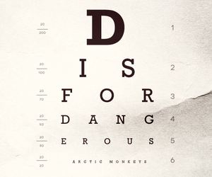 arctic monkeys, d is for dangerous, and song image