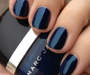 nails, marc jacobs, and blue image
