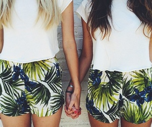 fashion, outfit, and best friends image
