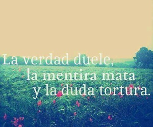 frases, duda, and verdad image