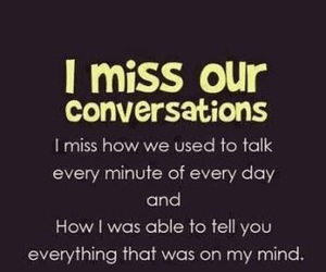quotes, miss, and conversation image