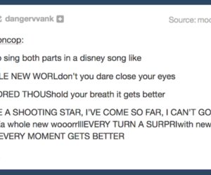 disney, funny, and songs image
